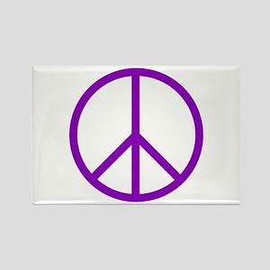 Peace Rectangle Magnet