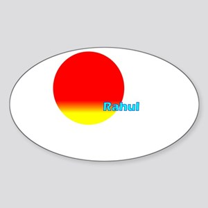 Rahul Oval Sticker