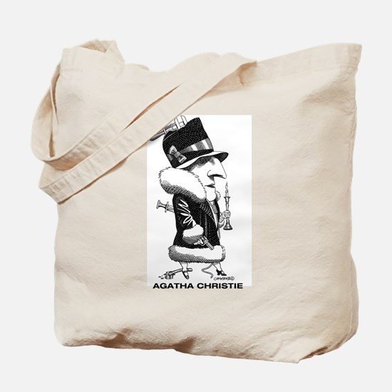 Agatha Christie Tote Bag