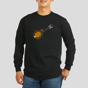 Just Mandolin Long Sleeve Dark T-Shirt