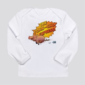 pork_chop_shirt Long Sleeve T-Shirt