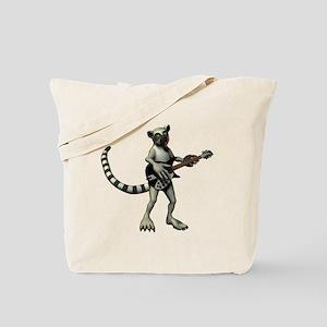 Lemur Guitar Tote Bag