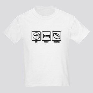 Eat, Sleep, Defense Kids Light T-Shirt