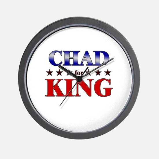 CHAD for king Wall Clock