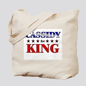 CASSIDY for king Tote Bag