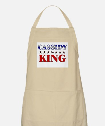 CASSIDY for king BBQ Apron