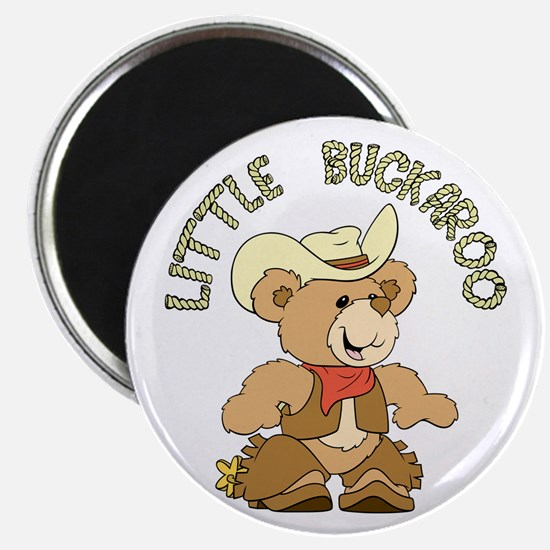 Little Buckaroo Bear Magnet
