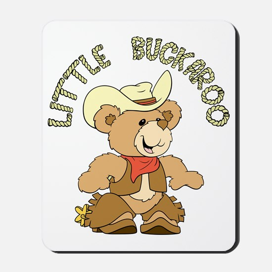 Little Buckaroo Bear Mousepad