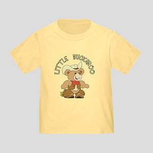 Little Buckaroo Bear Toddler T-Shirt