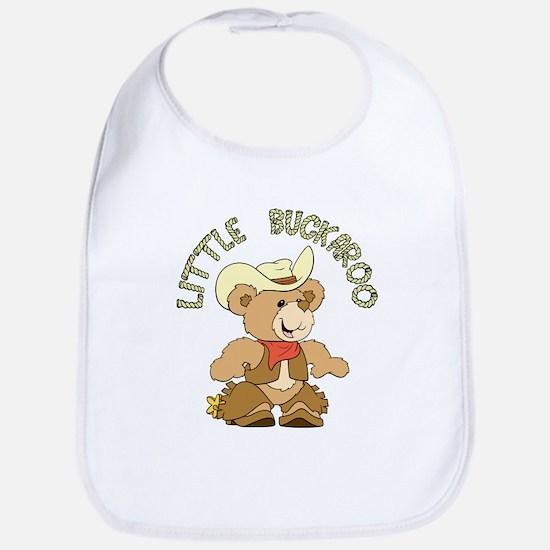 Little Buckaroo Bear Bib