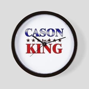 CASON for king Wall Clock