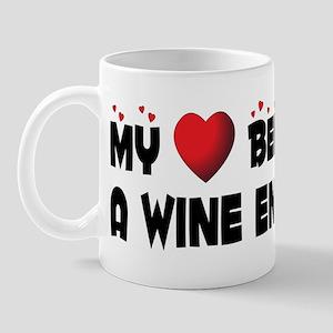 Belongs To A Wine Enthusiast Mug