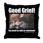 2GIRLS1CUP GRANDMA! Throw Pillow