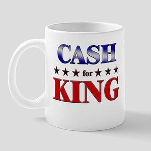 CASH for king Mug