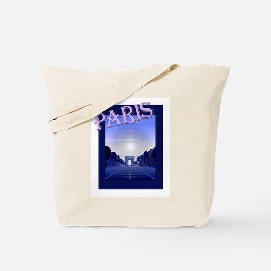 Champs Elysees Paris Travel Tote Bag