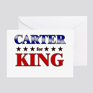 CARTER for king Greeting Card