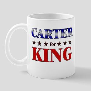CARTER for king Mug