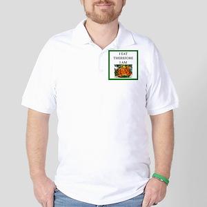 crab Golf Shirt