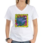 Equal Rights for All Women's V-Neck T-Shirt