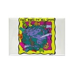 Equal Rights for All Rectangle Magnet (10 pack)