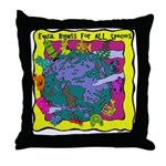 Equal Rights for All Throw Pillow