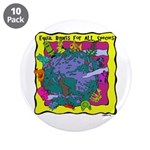 """Equal Rights for All 3.5"""" Button (10 pack)"""