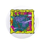 """Equal Rights for All 3.5"""" Button (100 pack)"""