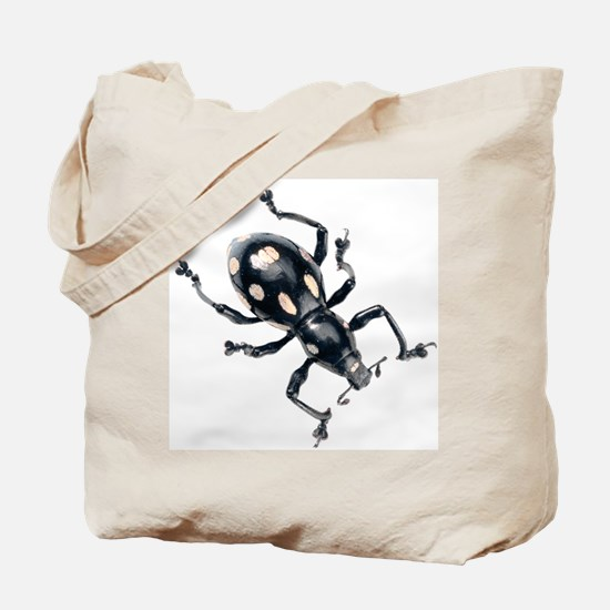 Spotted Beetle Tote Bag
