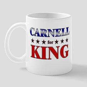 CARNELL for king Mug