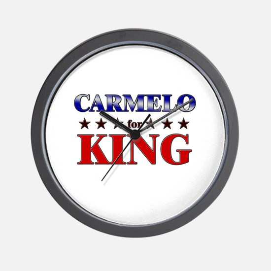 CARMELO for king Wall Clock