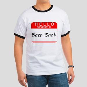 Beer Snob Ringer T