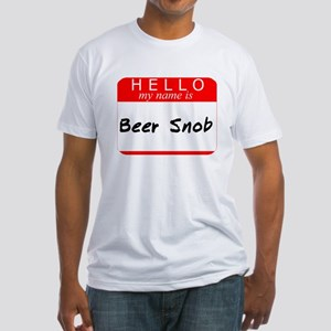 Beer Snob Fitted T-Shirt