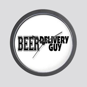 Beer Delivery Guy Wall Clock