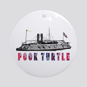 Pook Turtle Ornament (Round)
