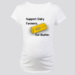 Eat Butter Maternity T-Shirt