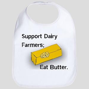 Eat Butter Bib