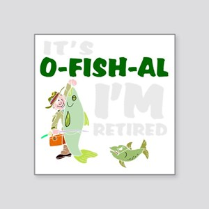 Funny retirement Sticker