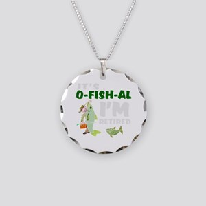 Funny retirement Necklace Circle Charm