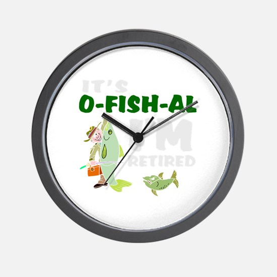 Funny retirement Wall Clock