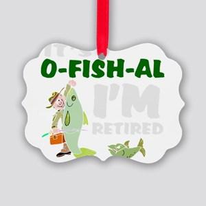Funny retirement Picture Ornament