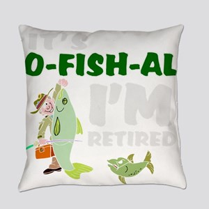 Funny retirement Everyday Pillow