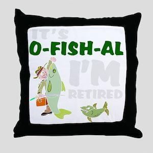 Funny retirement Throw Pillow
