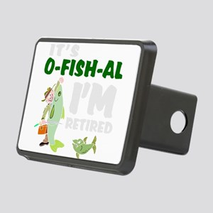 Funny retirement Rectangular Hitch Cover