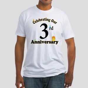 3rd Anniversary Party Gif T-Shirt