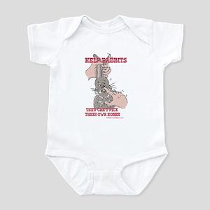 Help Rabbits Infant Bodysuit