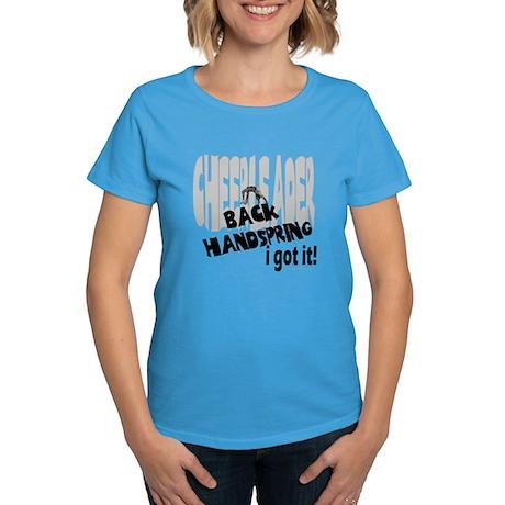 Back Handspring I Got It! Women's Dark T-Shirt