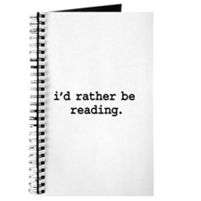 i'd rather be reading. Journal
