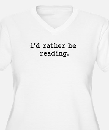i'd rather be reading. T-Shirt