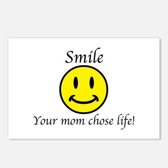 Smile life Postcards (Package of 8)