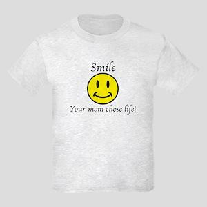 Smile Jesus Kids Light T-Shirt